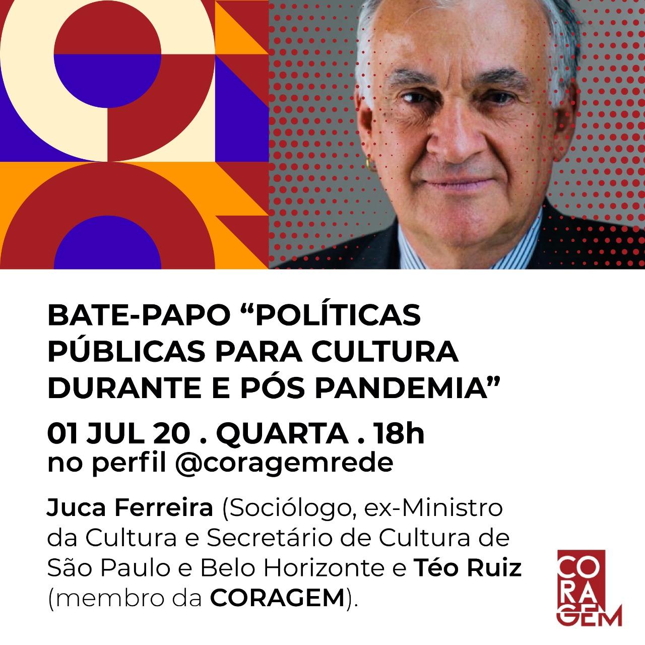 Coragem convida: Juca Ferreira