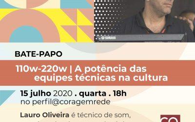110w-220w | Potência das equipes técnicas na cultura