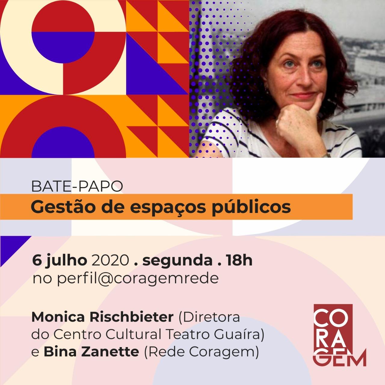 Live sobre Gestão de Espaços Públicos com diretora do Teatro Guaíra