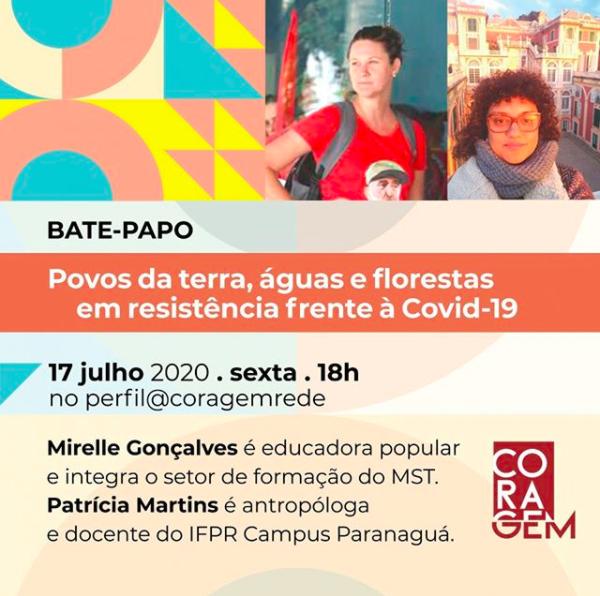 POVOS DA TERRA, ÁGUAS E FLORESTAS EM RESISTÊNCIA FRENTE À COVID-19