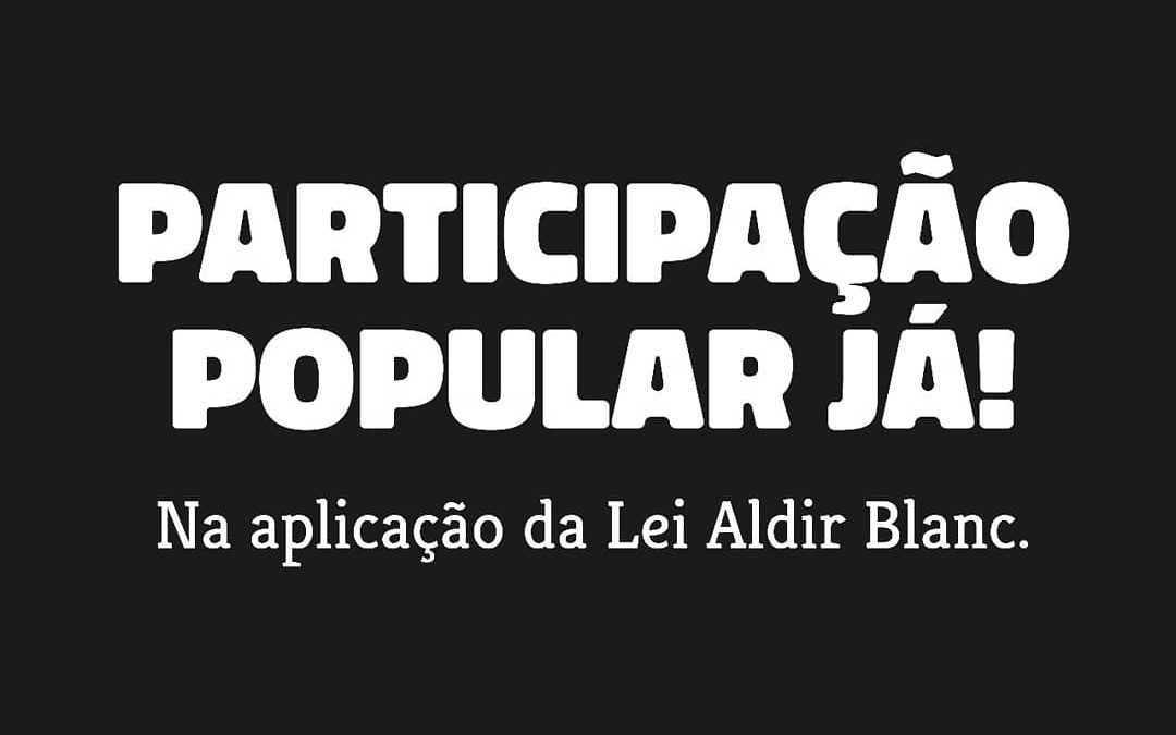 PARTICIPAÇÃO POPULAR JÁ