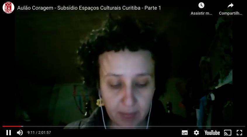 Aulão 1 | Subsídio Espaços Culturais