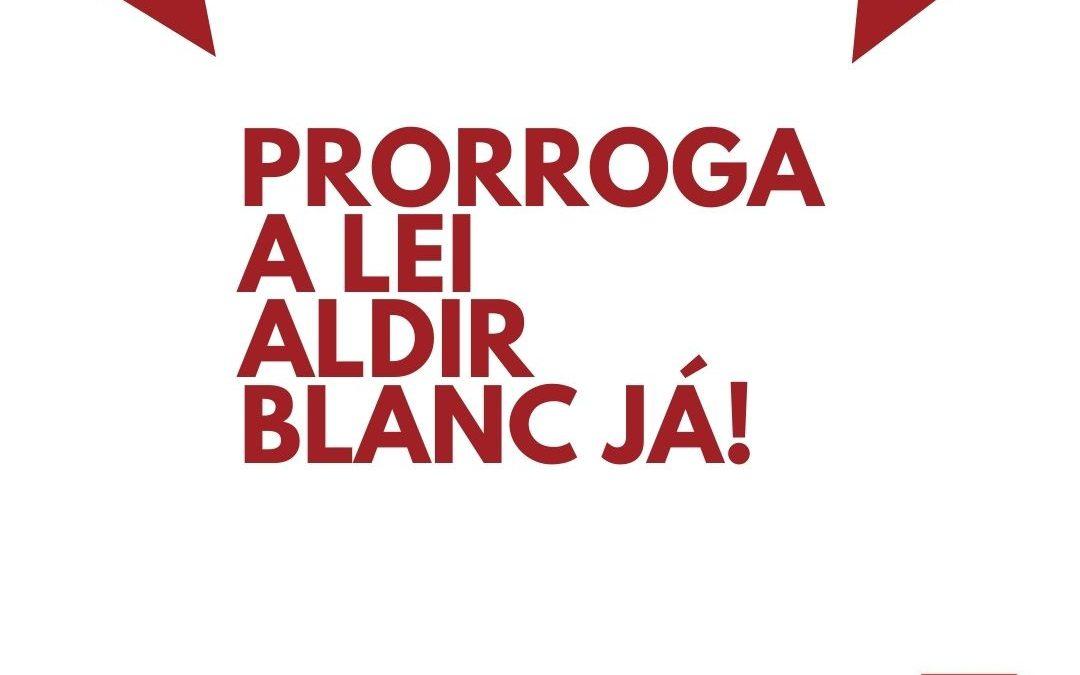 #PRORROGALEIALDIRBLANCJÁ