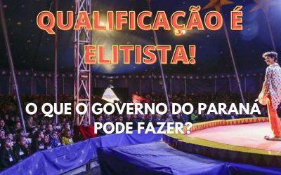 BOLSA QUALIFICAÇÃO É ELITISTA!